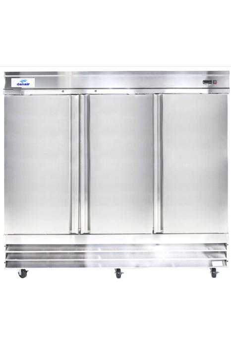 Réfrigérateur Commercial Inox Portes Danair - Refrigerateur 3 portes