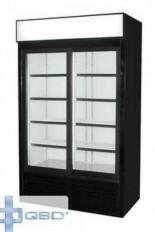 Réfrigérateur commercial 2 portes vitrées coulissantes QBD DC40S usagé